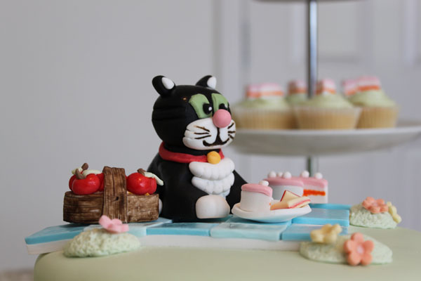 Jess the Cat 2nd Birthday Cake Jonah and the Whale Cakes