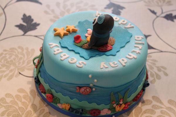 Unusual Baptism Cakes