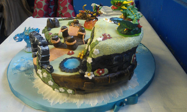 Skylanders Birthday Cake Uk